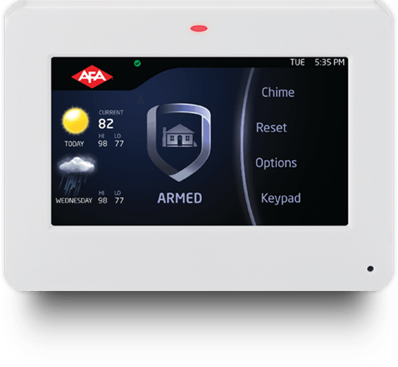 AFA - Reliable intrusion alarm systems